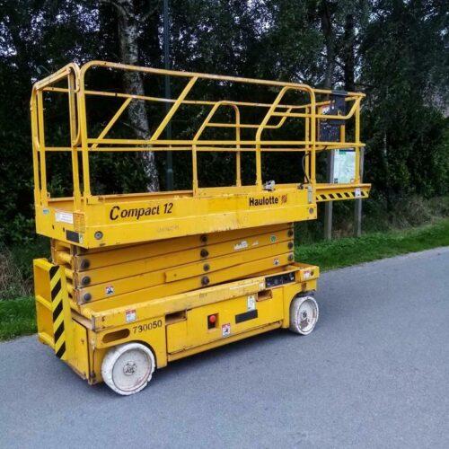 Haulotte Compact 12 Schaarhoogwerker 12 meter Elektro